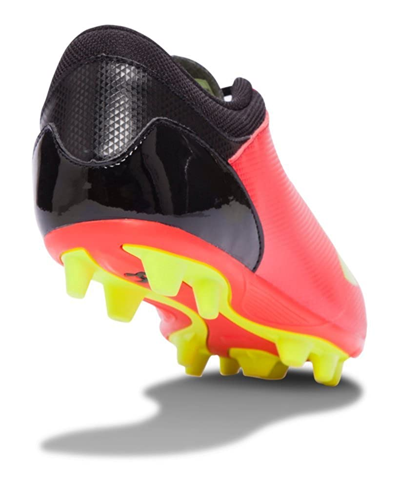 4 ROCKET RED Under Armour UA Spotlight DL FG-R Jr