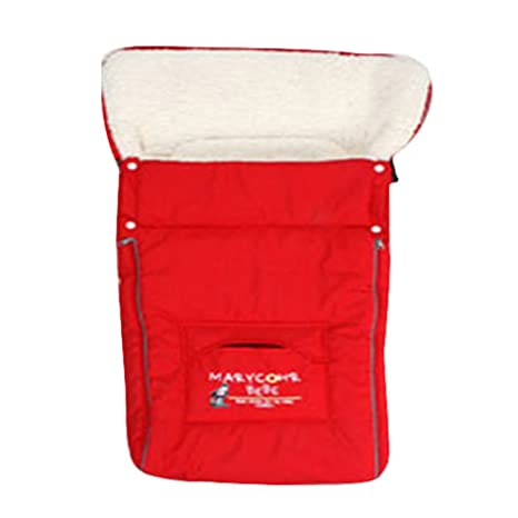 kuuboo bebé saco de abrigo para coche asiento caliente Mat Cojín sacos de dormir bolsa,