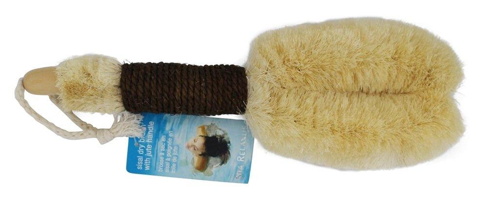 Sisal Spa Dry Skin Brush 12 Inch Relaxus L5762