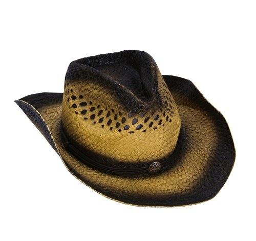TWO-TONE TOYO ROLL UP COWBOY HAT, Case of 36