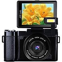 Digital Camera Vlogging Camera Full HD1080p 24.0MP Camera...