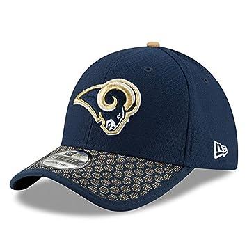 af1731dc5fc13a New Era 39Thirty Cap - NFL 2017 SIDELINE Los Angeles Rams: Amazon.co ...