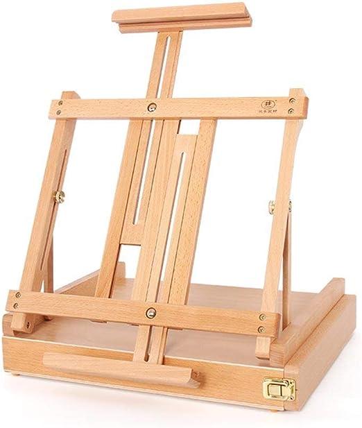 WHJ-easel Caja de Pintura Grande, Caja de Imagen PortáTil, Caja de ...