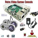 RetroBox - Raspberry Pi 3 Based Retro Game Console, RetroPie 16GB Edition