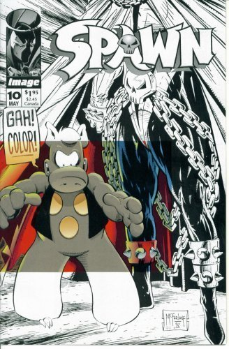 Spawn #10 : Crossing Over (Image ()