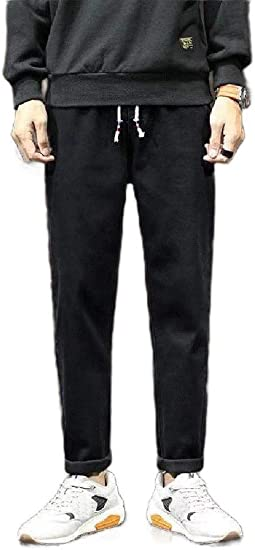 EnergyWD Men Loose Retro Sherpa Lined Casual Classic Denim Jeans