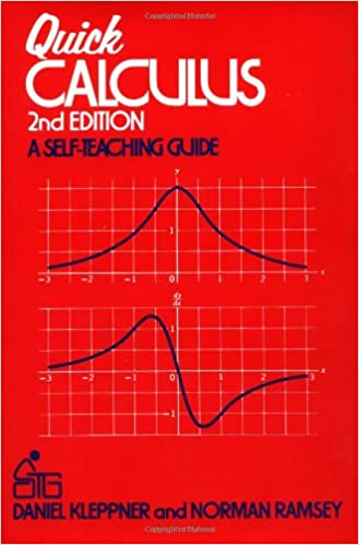 Quick calculus a self teaching guide 2nd edition daniel kleppner quick calculus a self teaching guide 2nd edition daniel kleppner norman ramsey 8581000033394 amazon books fandeluxe Choice Image
