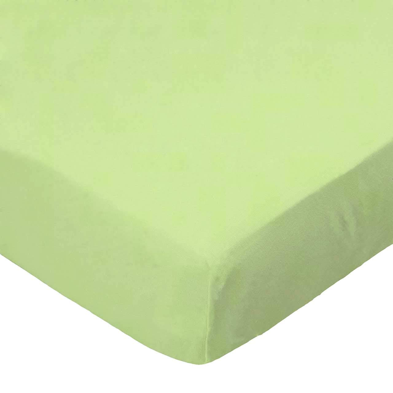 SheetWorld Fitted Bassinet Sheet - Mint Woven - Made In USA by sheetworld   B00L4A21FC