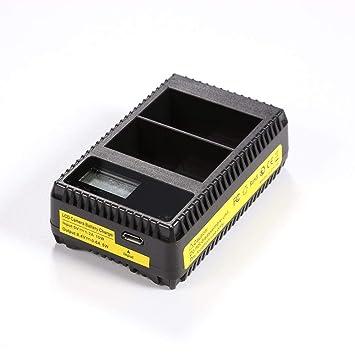 Hillrong para Nikon D600 D610 D600E EN-EL15 EN EL15 LCD USB ...