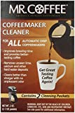 Mr. Coffee Coffeemaker Cleaner - For All Automatic Drip Units, 2 Packets - Set of 2 (Total 4 Packets)