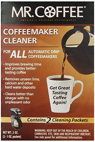 Mr Coffee Coffeemaker Cleaner : Mr. Coffee Coffeemaker Cleaner - For All Automatic Drip Units ,pack of 2 - Coffee Pigs