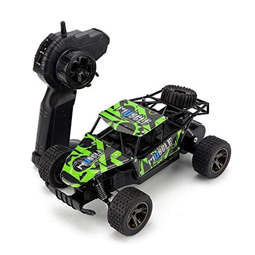 (Rabing Remote Control Cars, 1/18 Scale Electric Racing Car 2.4Ghz High Speed Off-Road Vehicle Crawler Truck)
