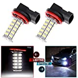honda civic 1998 fog lights - CCIYU 2Pack Xenon White H8 H11 68-SMD Fog/Driving Car Head light DRL LED Bulbs Lamp 12 (Super Bright White)
