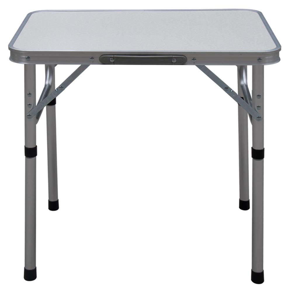 Camp Field Aluminum Folding Table , Adjustable Height Lightweight Portable Camping Table for Picnic Beach Outdoor Indoor by Camp Field