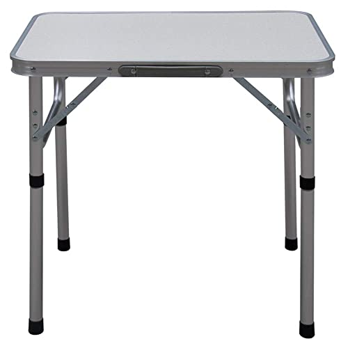 Camp Field Aluminum Folding Table , Adjustable Height Lightweight Portable Camping Table for Picnic Beach Outdoor Indoor