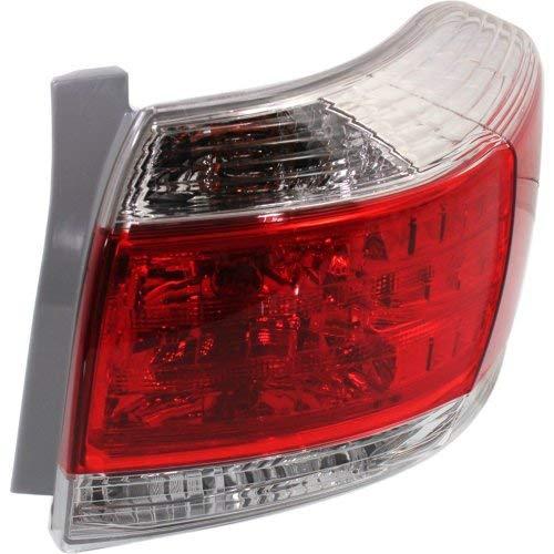(Tail Light for TOYOTA HIGHLANDER 2011-2013 RH Assembly USA Built)