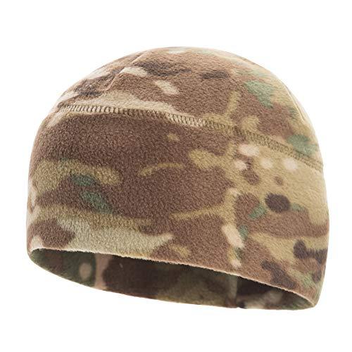 M-Tac Skull Cap Fleece 330 Winter Hat Mens Military Watch Tactical Beanie (Camo, Medium)