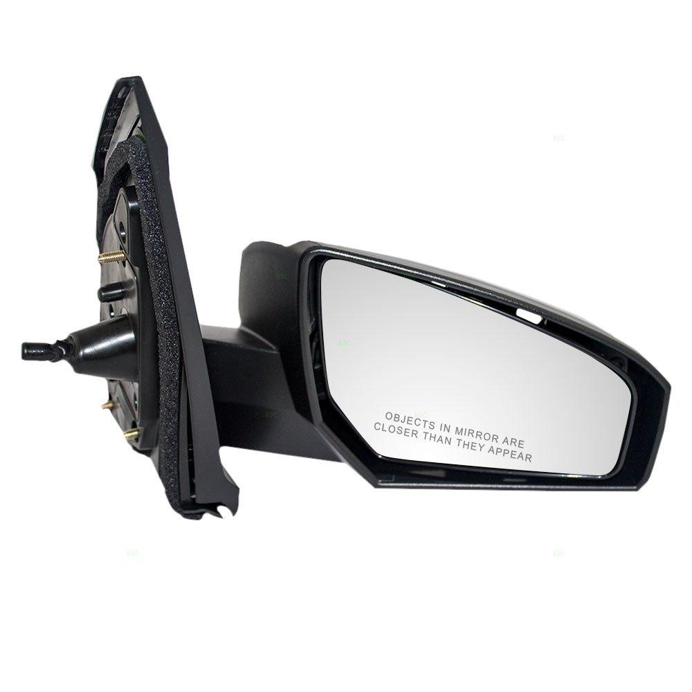Passengers Manual Remote Side View Mirror Replacement for Nissan 96301-ET00E AUTOANDART