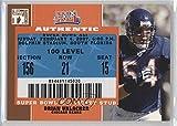 super bowl 2007 - Brian Urlacher (Football Card) 2007 Topps TX Exclusive - Super Bowl Ticket Stubs #SB-BU