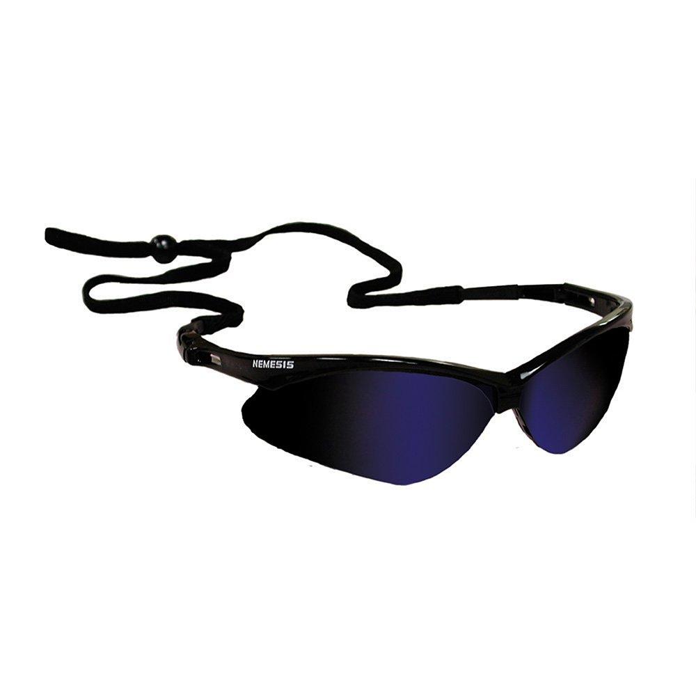 Jones Stephens Corp - Nemesis Blue Mirror Safety Glasses