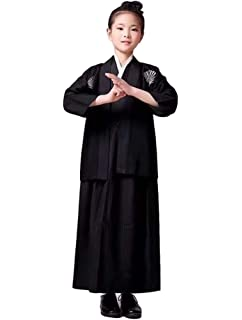 05b42041336 SSJ  Hakama   Kimono Boy   Japanese Traditional Kids Costume Child