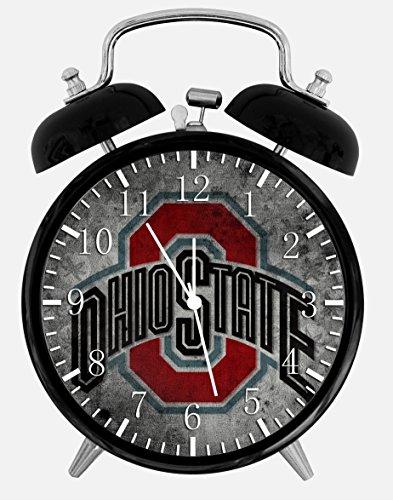 "New Ohio State Buckeyes Alarm Desk Clock 3.75"" Room Decor X50 Will Be a Nice Gift"