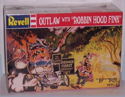 (Ed Big Daddy Roth's Outlaw with Robbin Hood Fink Model)