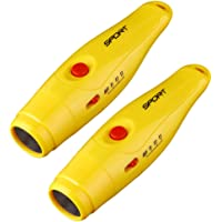 freneci Pack of 2, Electronic Sport Whistle, 3 Tones, 125 Db, Specific Direction