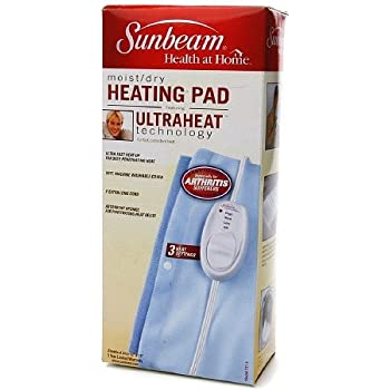 Amazon Com Sunbeam Moist Dry Heating Pad Model 731 5 1