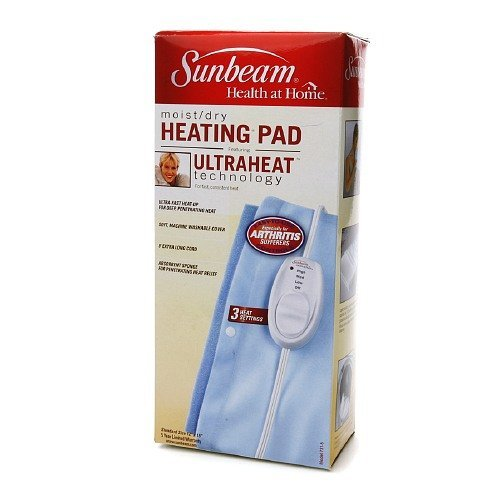 Sunbeam Moist/Dry Heating Pad, Model 731-5 1 ea ()