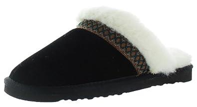 MUK LUKS Dawn Women's Suede ... Scuff Slippers discount buy 5VYNuWt