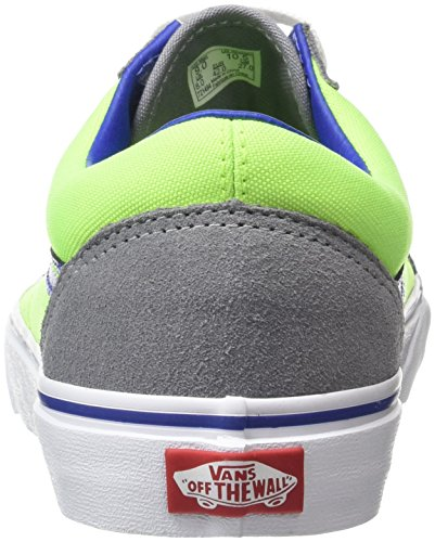 vans old skool brite neon blue