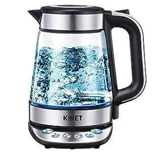 KIKET Glass Electric Kettle Temperature