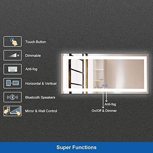 DP Home 70″ LED Lighted Illuminated Bathroom Vanity Wall Mirror