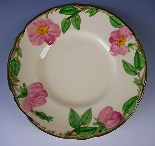 Franciscan Pottery DESERT ROSE Fly F/USA Stamp Bread & Butter Plate(s) (Desert Rose Pottery)