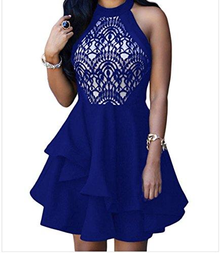 issa blue wrap dress - 4