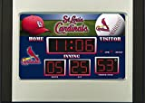 St. Louis Cardinals Baseball Logo Scoreboard Alarm Clock