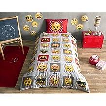 Disney The Emoji's Kid's Duvet/Quilt Cover Set Single / Twin Size Kids Bedding