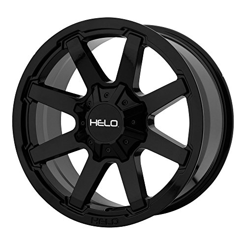 HELO HE909 GLOSS BLACK HE909 17x9 6x135.00/6x139.70 GLOSS BL