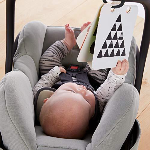 51iyiQjovOL - Baby Einstein Flip for Art High Contrast Floor Activity Mirror with Take Along Cards, Newborn+