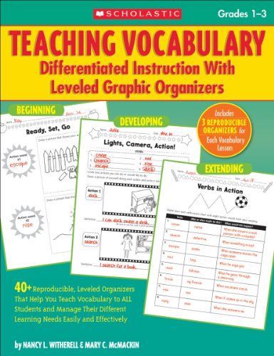 Teaching Vocabulary: Differentiated Instruction With Leveled Graphic Organizers ()