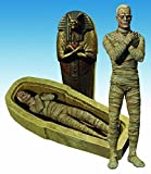 (Ship from USA) UNIVERSAL STUDIOS MONSTERS THE MUMMY SELECT DELUXE ACTION FIGURE /ITEM#H3NG
