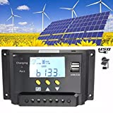 PATHONOR PWM Solar Panel Regulator Charge Controller Controller with LCD display