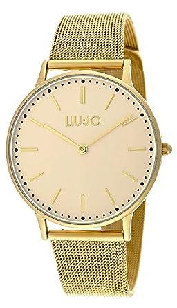 Liu Jo Damen-Armbanduhr Moonlight Analog Quarz Edelstahl beschichtet LJW-TLJ970