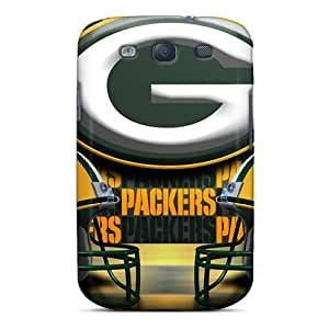Excellent Design Green Bay Packers Phone Cases For Galaxy S3 Premium Tpu Cases