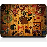 GrapeApeTM 3M Vinyl Hipster Sticker Collage Laptop Skin
