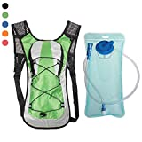 IronSeals Hydration Backpack Pack with 2L Water Bladder