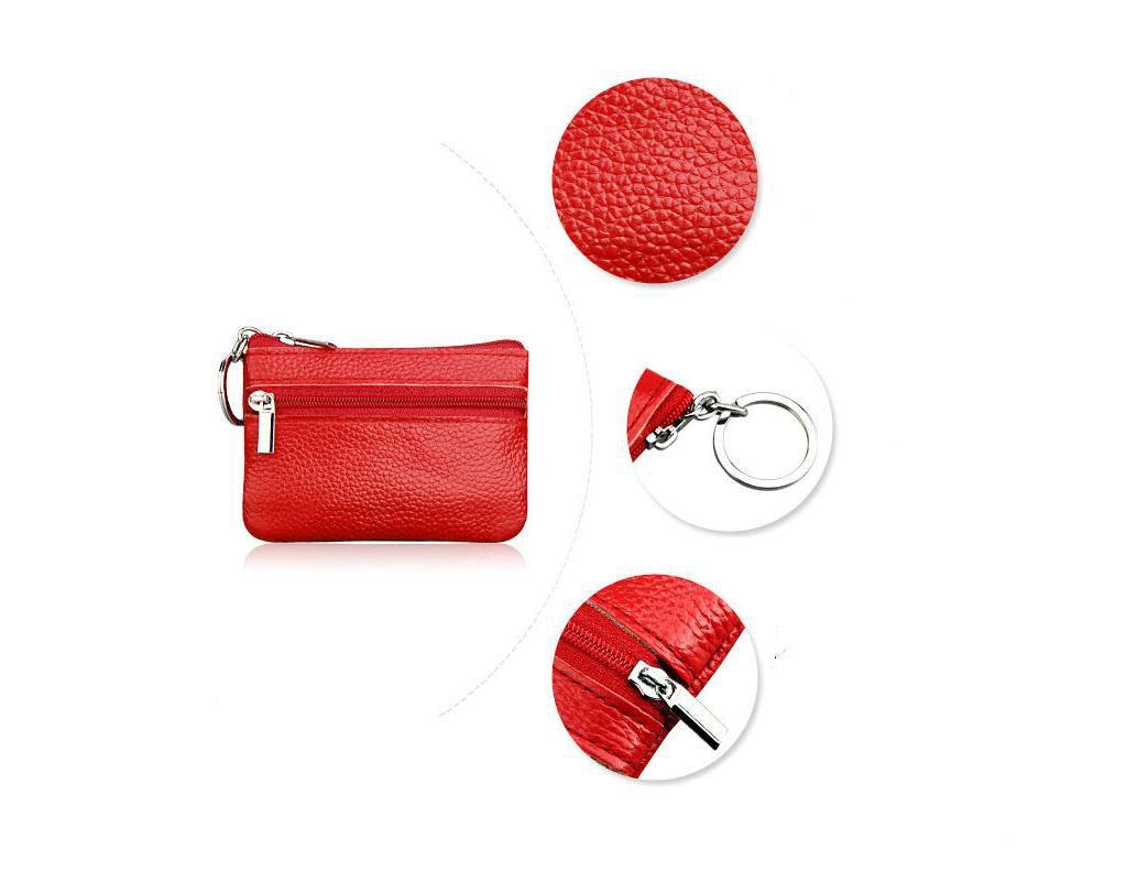 Milopon Kinder Geldb/örse Schl/üsselanh/änger Taschenanh/änger Coin Purse Keys Aufbewahrungs Tasche Storage Bag Schl/üssel Taschen Blau