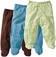 Baby Soy 3-Piece Footie Pant Set for Boys