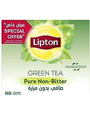شاي ليبتون اخضر نقي وغير مر - 100 كيس شاي